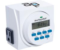 Autopilot 7 Day Dual Outlet Digital Timer TM01715D