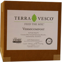 TerraVesco TerraVesco Vermicompost, 1 cu ft boxed TVVC1CFBX