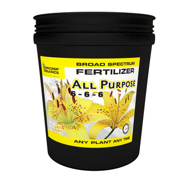 VermiCrop All Purpose 6-6-6 Broad Spectrum Fertilizer 5Gal VC995701