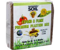 Wonder Soil Expand and Plant Premium Coir Cube WS10010