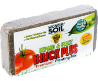 Wonder Soil Expand and Plant Brick Plus, 1.5 lb WS10030