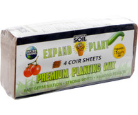 Wonder Soil Expand and Plant Premium Soil Sheets, pack of 4 4/c WS10040