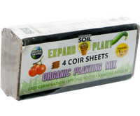 Wonder Soil Expand and Plant Organic Soil Sheets, pack of 4 4/c WS10050