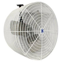 Schaefer Versa-Kool Circulation Fan 20 in w/ Tapered Guards, Cord and Mount - 5470 CFM