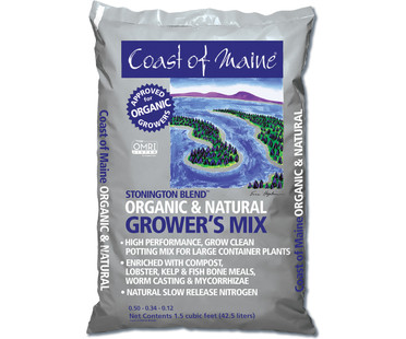 Coast of Maine Coast of Maine Stonington Blend Organic Growers Mix 1.5cf CMSBO15