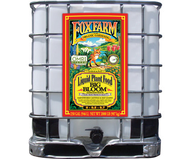 FoxFarm Big Bloom Liquid Concentrate, 250 gal FX14519