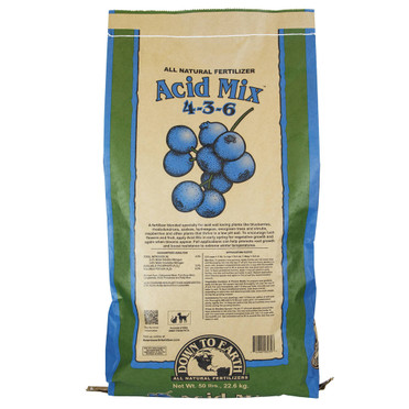 Down To Earth Down To Earth Acid Mix, 50 lb SO Only