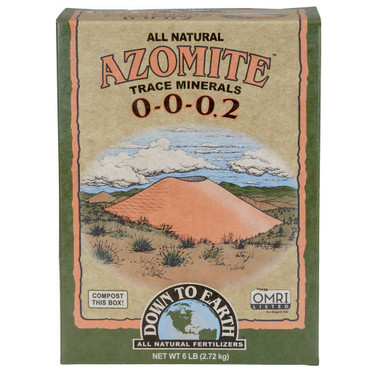 Down To Earth Down To Earth Azomite Sr Powder, 6 lb