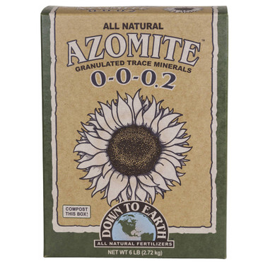 Down To Earth Down To Earth Azomite Granulated, 6 lbs