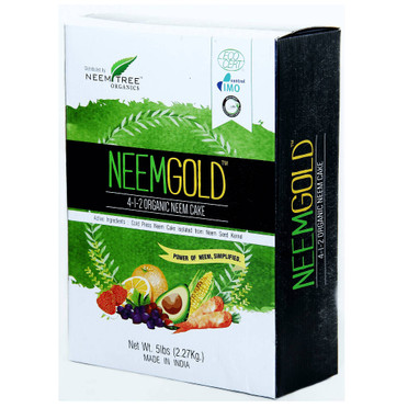 NeemTree Organics NeemTree Organics Gold Cake, 5 lb