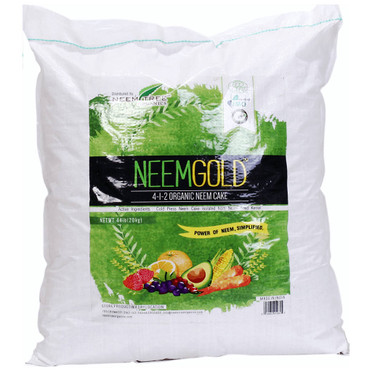 NeemTree Organics NeemTree Organics Gold Cake, 44 lb