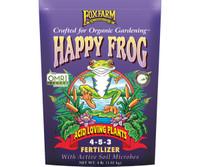 FoxFarm Happy Frog Acid Loving Dry Fertilizer 4 lb bag FX14610