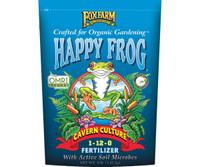 FoxFarm Happy Frog Cavern Culture Dry Fertilizer 4 lb bag FX14630