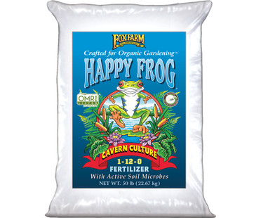 FoxFarm Happy Frog Cavern Culture Dry Fertilizer 50 lb bag FX14635