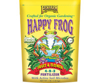 FoxFarm Happy Frog Fruit and Flower Dry Fertilizer 4 lb bag FX14650