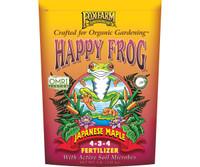 FoxFarm Happy Frog Japanese Maple Dry Fertilizer 4 lb bag FX14660