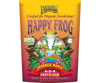 FoxFarm Happy Frog Japanese Maple Dry Fertilizer 4 lb bag FX14660