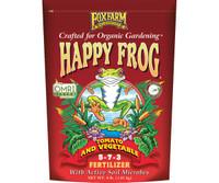 FoxFarm Happy Frog Tomato and Vegetable Dry Fertilizer 4 lb bag FX14690