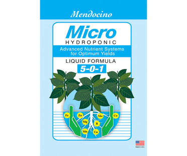 Grow More Mendocino Micro 5-0-1 1 gal GR9607