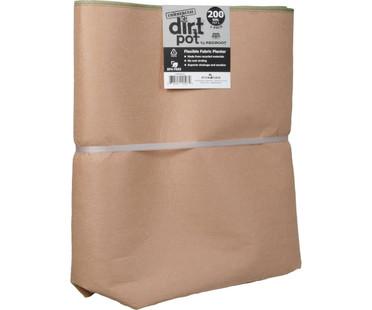 Dirt Pot Dirt Pot by RediRoot #200 HGDRRDP200