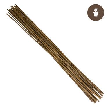 6 Natural Bamboo Stakes Bulk 250/bale