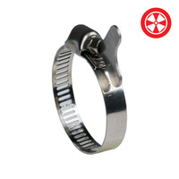 6 S/S Duct Clamp w/ Butterfly Screw