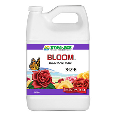 Dyna-Gro Bloom 3-12-6 Plant Food 1 Gal