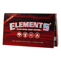 ELEMENTS HEMP PAPERSSINGLE WIDE 25/BOX