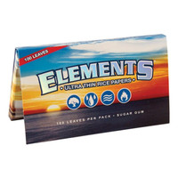 ELEMENTS ULTRA RICE PAPERS SINGLE WIDE 25/BOX
