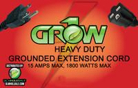 Grow1 240V Extension Cord 16 Gauge 15