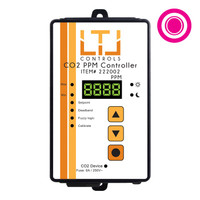 LTL CO2 Analog CO2 PPM Controller, 5m remote sensor probe, 1-outlet