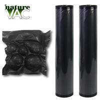 NatureVAC Vacuum Seal Bags 11in x 19.5ft Black/Black