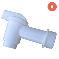 Spigot, 3/4 adapter for 6 Gal Container
