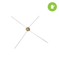Wire Cross Blade for 16 Bowl Style Trimmer