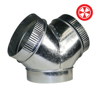 12x12x12 Y Duct Connector