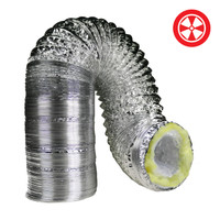 4 x 25 Insulated Ducting