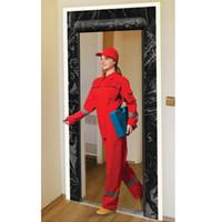 Adhesive Zipper Door