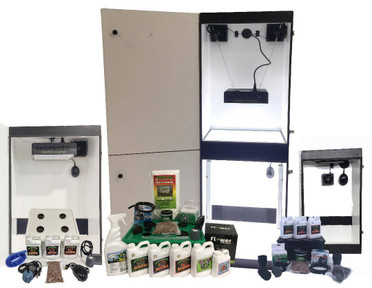 Perpetual Harvest 14 Plant Hydroponics Grow Boxes Combo