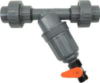 Dosatron Dosatron InLine Filter Kit w/Unions 3/4in200 Mesh/80Micron DSILFKWU34