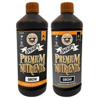 Snoops Premium Nutrients Grow B Coco 20 Liter Cs