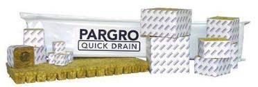 Grodan Pargro QD Biggie Block 6 in x 6 in x 6in w/ Hole 64CT