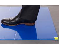 International Enviroguard Enviromat, Sticky Mat, Blue, 24x36, 30/pad, 80 pads/case EG62380