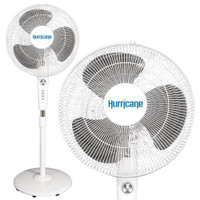 Hurricane Supreme Oscillating Stand Fan 16 in 42