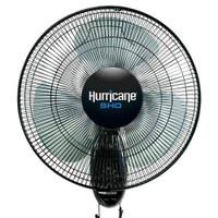 Hurricane SHO Oscillating Wall Mount Fan 16 in Plt