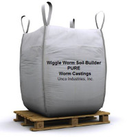 Wiggle Worm Soil Builder Wiggle Worm Soil Builder PURE Worm Castings Bulk 2000 lb GMWWBULKT