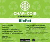 Char Coir Char Coir BioPot, 3L CHCBP3L