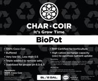 Char Coir Char Coir BioPot, 8L CHCBP8L