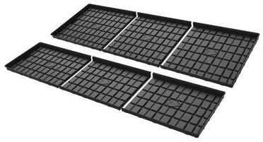 Botanicare 4W x 5L Black ABS Mid Tray