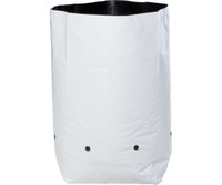 Hydrofarm Grow Bag, White/Black 3 gal, 20 packs of 25 500 HGBW3GAL