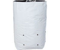 Hydrofarm Grow Bag, White/Black 7 gal, 16 packs of 25 400 HGBW7GAL